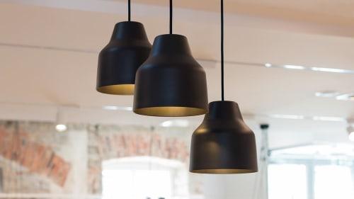 Pendants by Saarepera & Mae seen at Tallinn Design House, Tallinn - Pendant Light Black