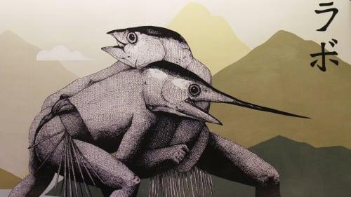 Sumo Siciliano | Murals by HIN