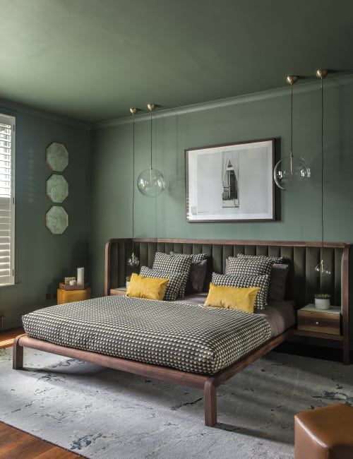 Beds & Accessories by Casa Botelho seen at Private Residence, London - Casa botelho