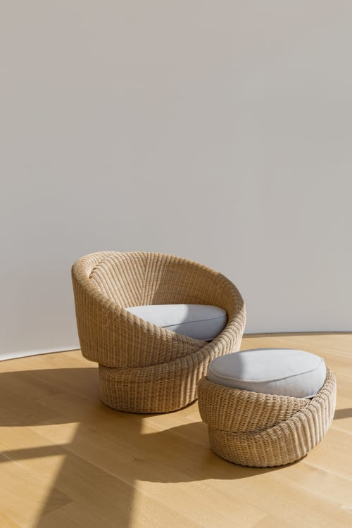 Chairs by NEA Studio | Nina Edwards Anker seen at Private Residence - New York City, NY, New York - Knotties