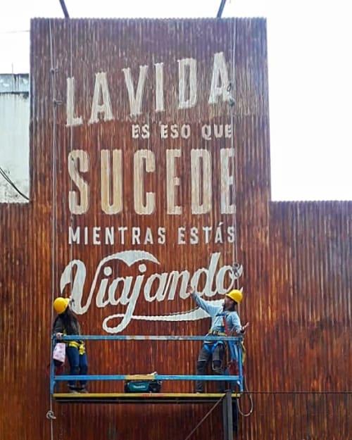 Art Curation by Belu Mondati seen at Selina Nueva Cordoba, Córdoba - Selina mural