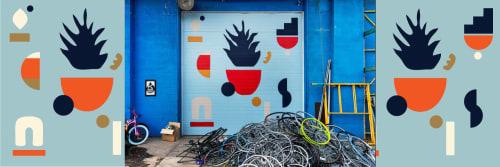 The Wavering Line - Artist: Ky Novak - Art and Apparel