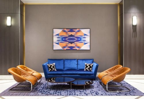 Art Curation by Amy Parry Projects seen at Hilton Miami Downtown, Miami - Art Curation