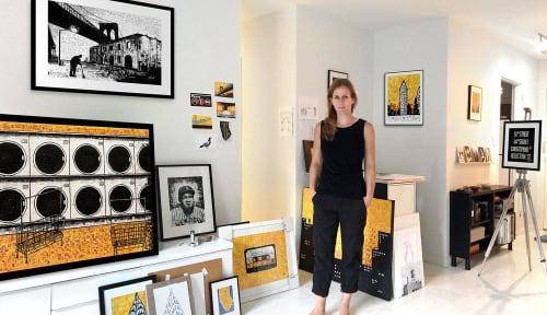 Nina Boesch - Wall Hangings and Art