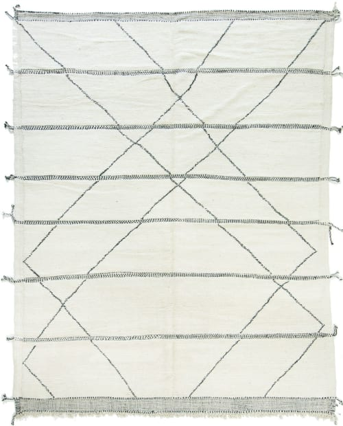 Moroccan Beni Ourain Tribe Berber Rug | Rugs by Mehraban | Mehraban Rugs in West Hollywood