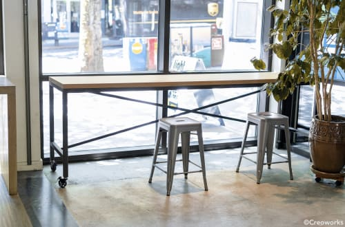 Tables by Creoworks seen at KEXP, Seattle - KEXP-FM