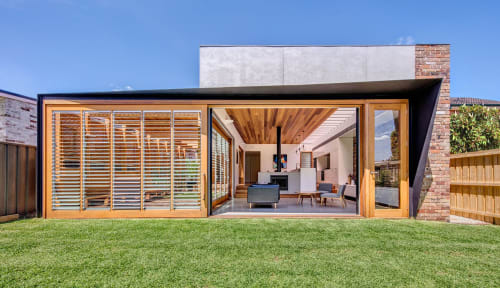 Architecture by CplusC Architectural Workshop seen at Private Residence, Canada Bay - Sliding Doors