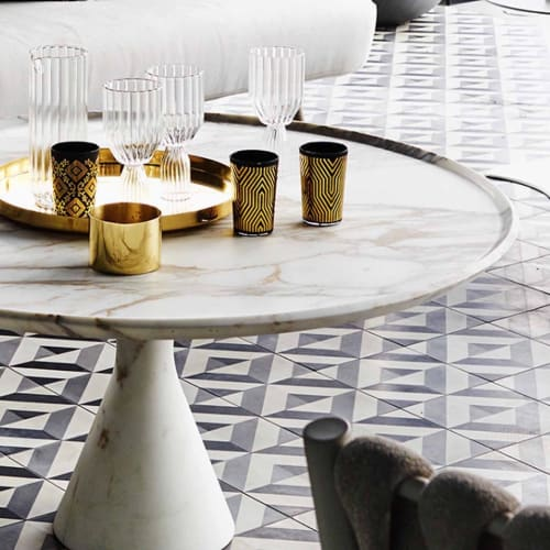 Tables by Kreoo seen at Private Residence, Sydney - Pedina Tables