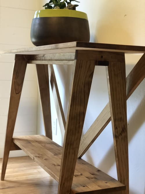 Tables by Reclaimed Theory seen at Private Residence, Grand Rapids - Custom Request