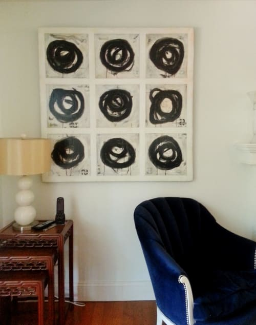 Paintings by Margot Waller Madgett seen at Private Residence, Del Mar - Intermission series, Mo