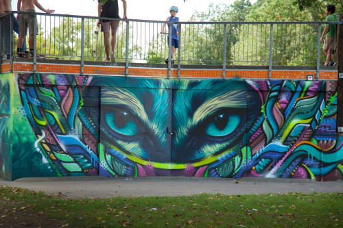 SWiFTMANTiS - Street Murals and Public Art