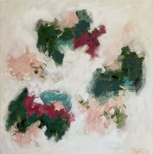 Dancing Lily Pads   Paintings by Jessica Whitley Studio