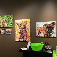 Art & Wall Decor by Maritza Hernandez seen at Private Residence, Chicago - Tommy