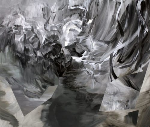 Paintings by Melanie Authier - If black is white, white is black