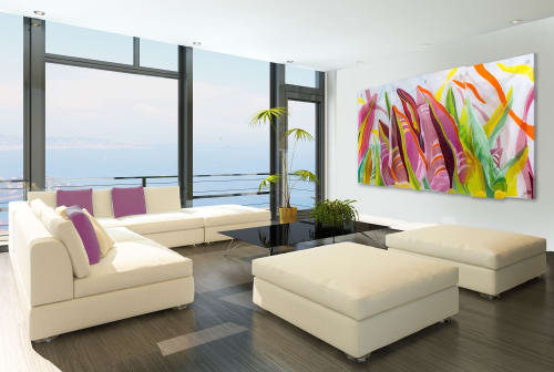 Art & Wall Decor by Barbara Westfall seen at Private Residence - Tropical Delight