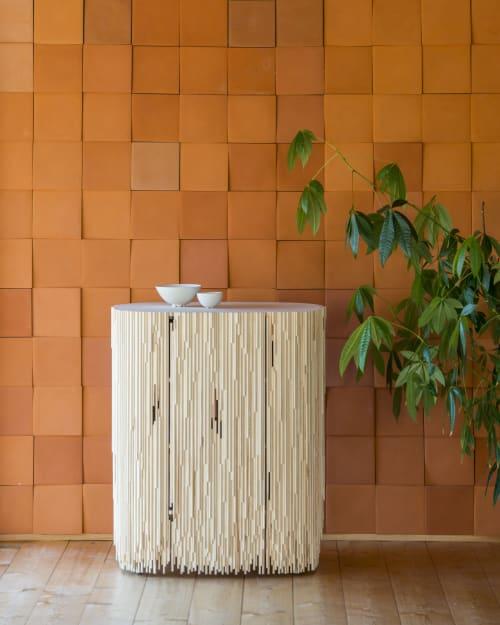 Furniture by Antrei Hartikainen seen at Private Residence, Fiskars - MELT cabinet