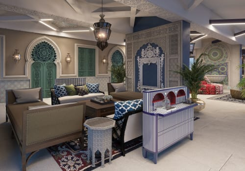 Tables by Scarlet Splendour seen at Private Residence, Mumbai - The General Table