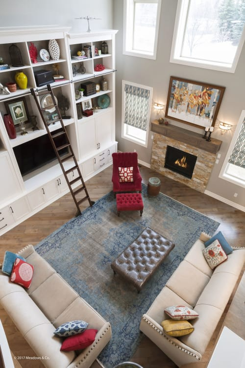 Interior Design by Dan Davis Design seen at Private Residence, Northville - Family Retreat.