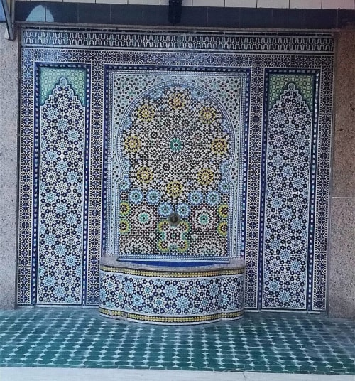 Tiles by Moroccan Tile & Stone seen at Private Residence, Fes - Moroccan Mosaic Tile