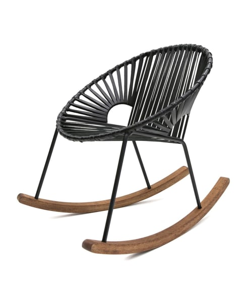 Chairs by Mexa seen at Villa Papelillos, Ciudad de México - Mexa Classics Ixtapa Rocking Chair
