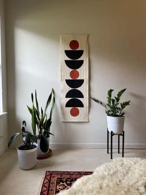 Wall Hangings by Vacilando Studios seen at Private Residence, San Marcos - Cairns Wall Quilt