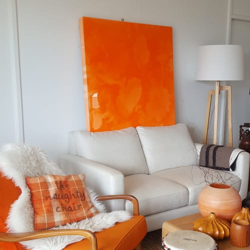 Paintings by Rae West Artist seen at Private Residence, Wellington - Popsicle