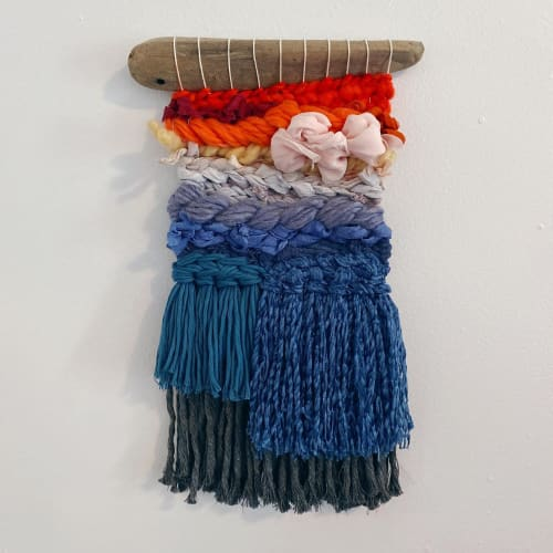 Macrame Wall Hanging by Gabrielle Mitchell Studio seen at Creator's Studio, Brooklyn - Small Ombre Organic Weaving