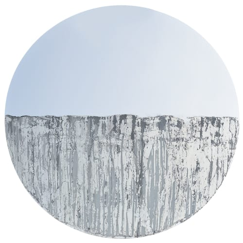 Wall Hangings by Alina Knechtle seen at Sorelle Gallery Fine Art, New Canaan - Circular Artwork