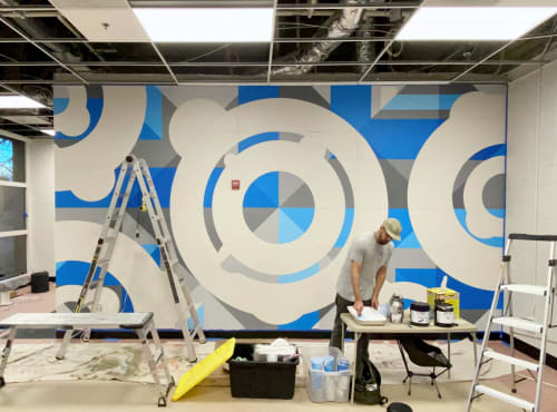 Interior Design by Jason T. Graves seen at The Denver Post, Denver - Denver Post – Office Murals – 2020