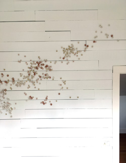 Sculptures by Christina Watka seen at Private Residence in Accord, NY, Accord - Murmuration