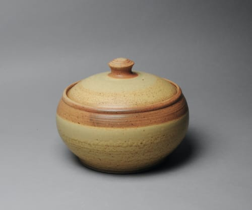 Tableware by John McCoy Pottery seen at Creator's Studio, West Palm Beach - Covered Casserole