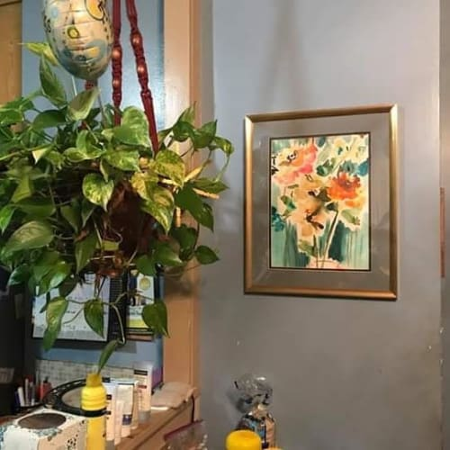Paintings by Colleen Sandland Art seen at Private Residence, Los Angeles - Floral Painting