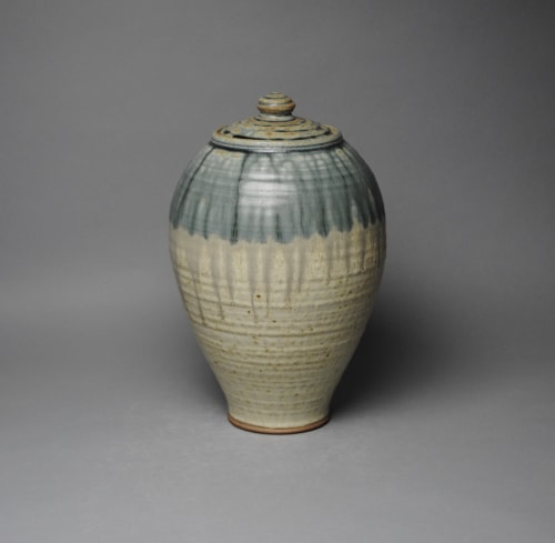 Vases & Vessels by John McCoy Pottery seen at Private Residence, Saugerties - Covered Jar