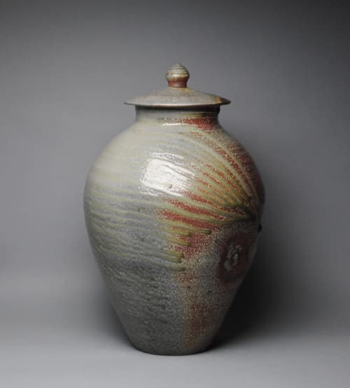 Vases & Vessels by John McCoy Pottery seen at Creator's Studio, West Palm Beach - Large Covered Jar