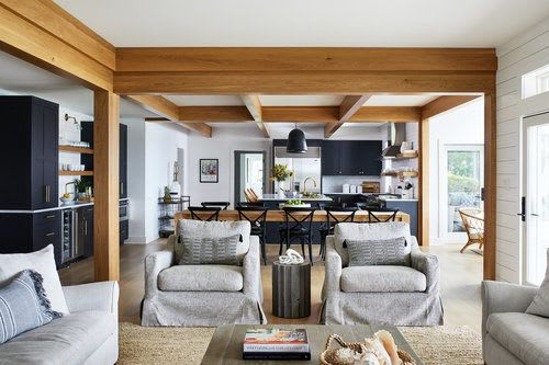 Interior Design by Zoe Feldman Design seen at Private Residence - Eastern Shore Farmhouse Interior Design