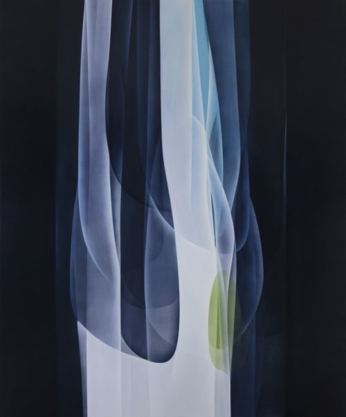 Paintings by Agneta Ekholm seen at Private Residence, Melbourne - Forestial Flow 2018