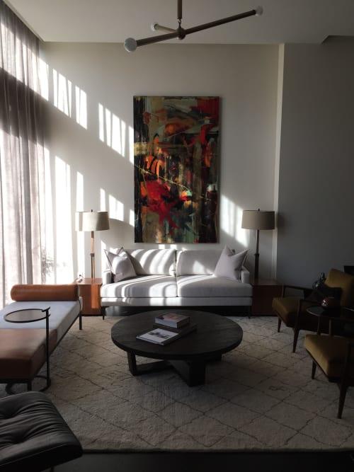 Paintings by Joyce Fournier seen at Private Residence, Toronto - Samba Painting