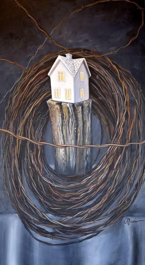 Paintings by Crystal Rassi Fine Art seen at Creator's Studio, Saskatoon - Ubiquitous