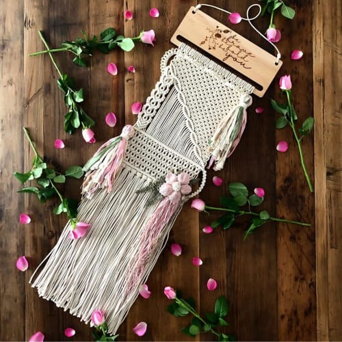 Sarah Wallace - Macrame Wall Hanging and Art