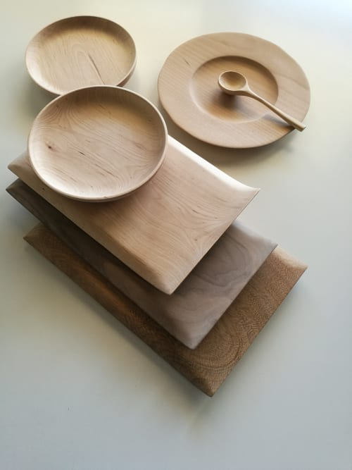 Utensils by woodappetit seen at Private Residence, Santander - tray
