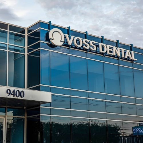 Signage by Aria Signs seen at Voss Dental, Houston - Pylon Signage