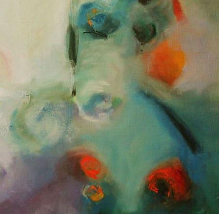 Paintings by Cecilia Arrospide at Private Residence, Miraflores, Comas, Comas - BRISA