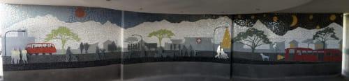 Public Mosaics by Julian Phillips Mosaic seen at George, George - Hospital entrance Mosaic