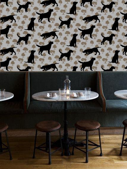 Wallpaper by Space Innovation Ltd seen at Private Residence, London - DOGWOOD Wallpaper