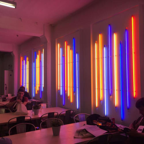 Lighting by Aphra Shemza seen at The Truman Brewery, London - Bespoke lighting design