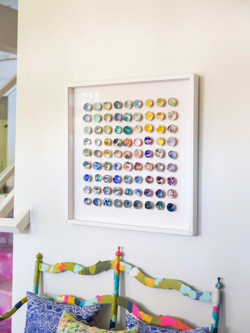Art & Wall Decor by Elisa Sheehan seen at Private Residence, Saratoga Springs - Kintsugi Eggshells 81