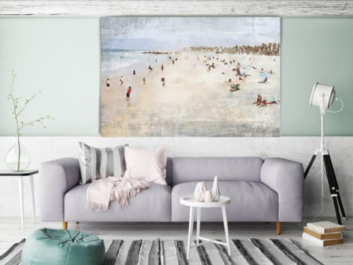 Paintings by Irena Orlov - On the Beach