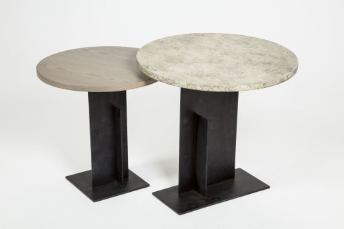 Tables by Matriz Design seen at Private Residence, Buenos Aires - ROSS TABLE