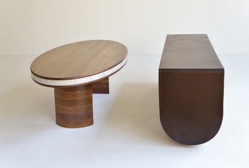Benches & Ottomans by HACHI COLLECTIONS seen at Private Residence, Brooklyn - CATERPILLAR BENCH