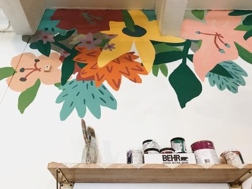Murals by The Small Creative seen at Superbloom - Sip Shop Make, Savannah - Superbloom Mural